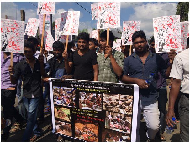 Jaffna University protest.JPG 02
