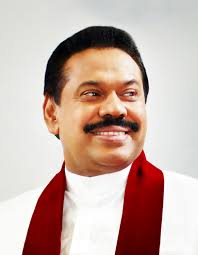 Mahinda Rajapaksa, former President of Democratic Socialist Republic of Sri Lanka