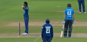 Controversial run-out Jos Buttler Sachithra Senanayake England vs Sri Lanka ODI 2014.