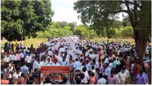 Jaffna University protest