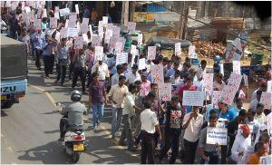 Jaffna University protest..03